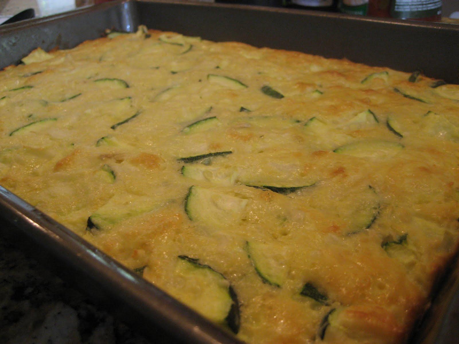 Zucchini Casserole Recipes Bisquick