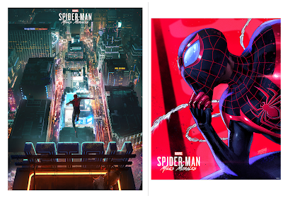 Marvel's Spider-Man: Miles Morales Video Game Prints by Tim Tsang, Insomniac Games Art Team & Grey Matter Art