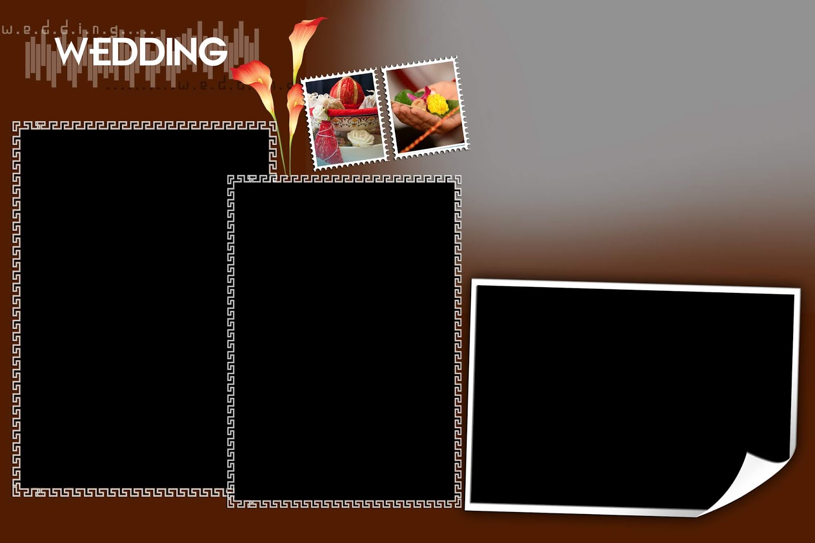 Karizma Album 12x18 PSD Wedding Background Free Download