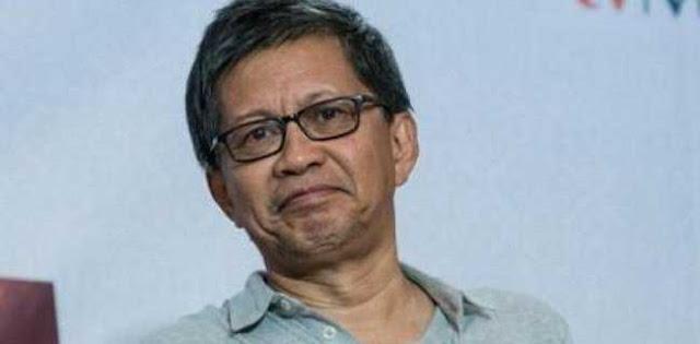 Tanggapi Langkah Kubu Prabowo ke MK, Rocky Gerung: Akhirnya Pilih Jalan Hukum daripada Jalan Thamrin