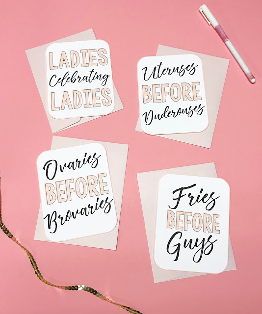 Check out these FREE Galentine's Day Printables!