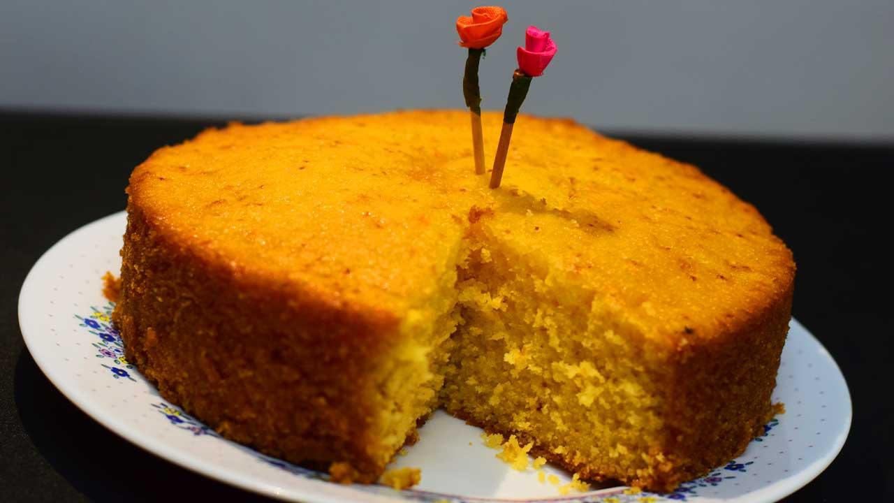 अननसाचा केक - पाककृती | Spongy Pineapple Cake - Recipe