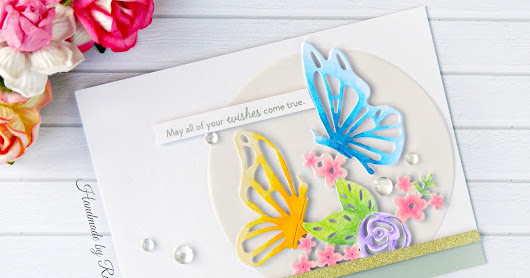 Interlacing Butterfly - Sizzix Handmade Card