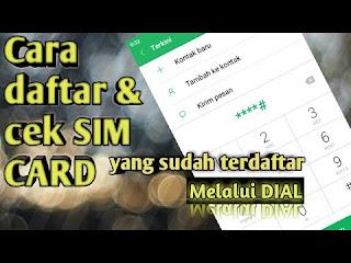 penggunaan gadget telah menjadi kebutuhan Cara Cek Registrasi Sim Card Dengan Tepat
