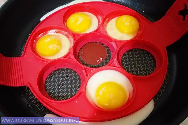 cookwares, kitchen, Tefal, frying pan, nonstick pan, Tefal frypan, Flippin Fantastic Nonstick Pancake Ring