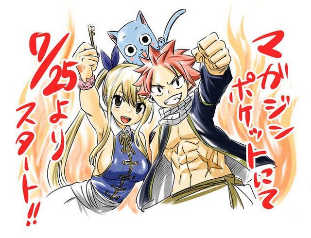 Secuela oficial de Fairy Tail se estrenará el 25 de julio