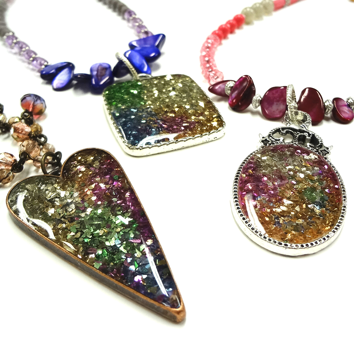 Jewelry resin and stampendous glass glitter i love resin aloadofball Choice Image