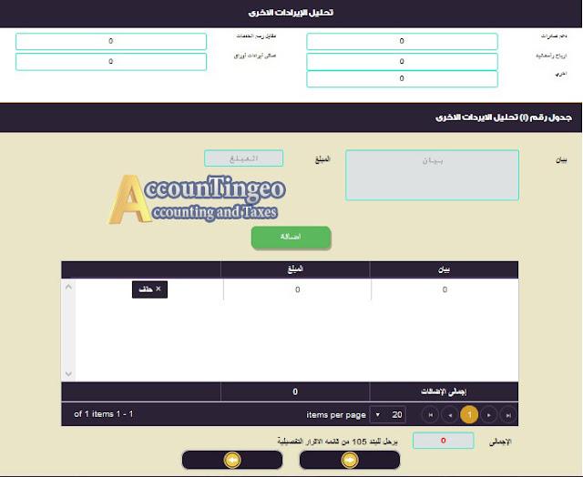 اقرار ضريبة الدخل | بوابة الضرائب المصرية اقرار الاشخاص الاعتبارية غير مؤيد