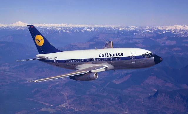 Boeing 737'yi ilk kullanan şirket Alman havayolu şirketi Lufthansa - Boeing 737 D-ABEF