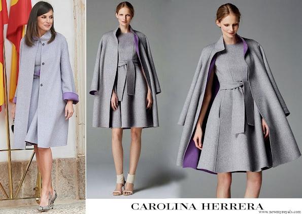Queen Letizia outfit Carolina Herrera Fall 2016 collection