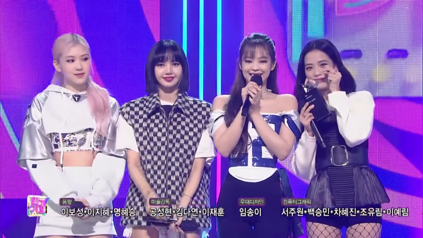 BLACKPINK Takes Home The 5th Trophy for 'Lovesicks Girl' on Inkigayo