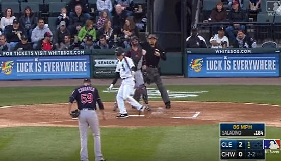 MLB VIDEO: @caraquistas Carlos Carrasco estuvo cuchillo y Cleveland blanqueo a Chicago ...