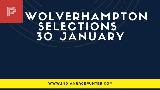Wolverhampton Race Selections 30 January