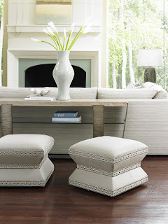 Baer's furniture accent ottoman