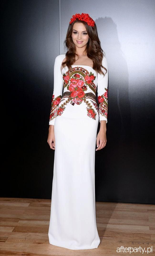 Amy Willerton Paulina Krupinska Miss Universe Poland 2013  Evening Gown  National Costume