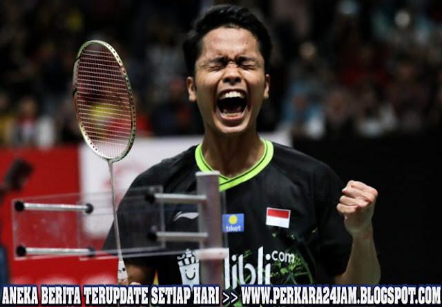 Anthony Sinisuka Ginting Juara Indonesia Master 2020