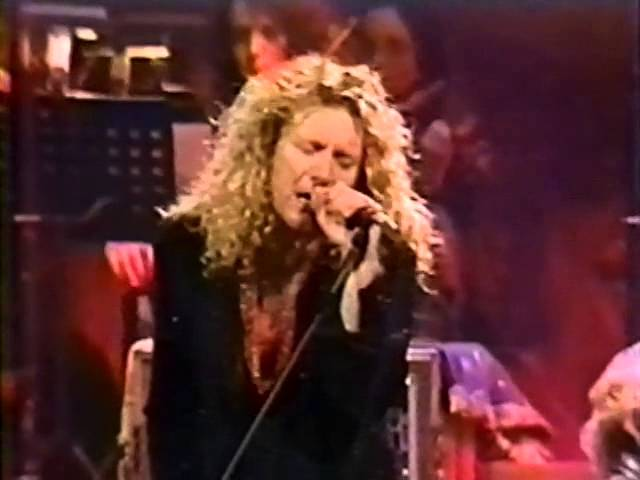"""Jimmy Page - Robert Plant   """"Since I've Been Loving You""""  ( Chicago 1995 )"""