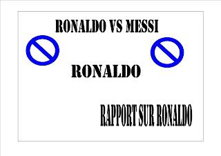 Rapport sur Ronaldo vs messi contre les meilleurs gardiennes du football  QUI le meilleur