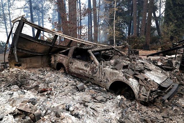 48 νεκροί από τη φονική πυρκαγιά στην Καλιφόρνια (βίντεο)