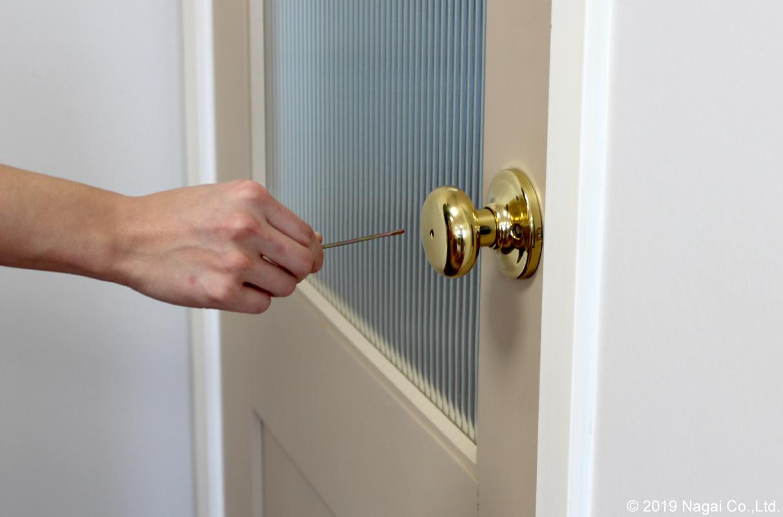 ドア ロック 開け 方