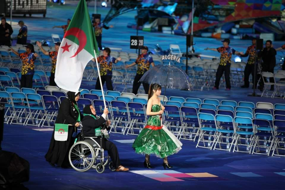 قائمة الرياضيين الجزائريين المتأهلين إلى الألعاب البارالمبية طوكيو 2021