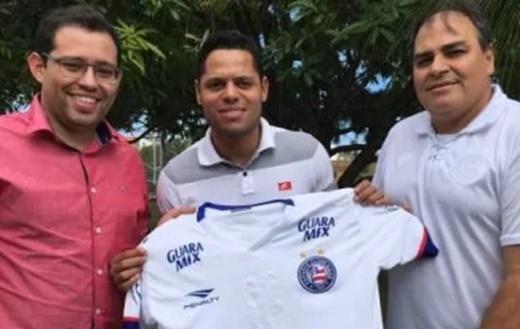 Bahia oficializa a contratação