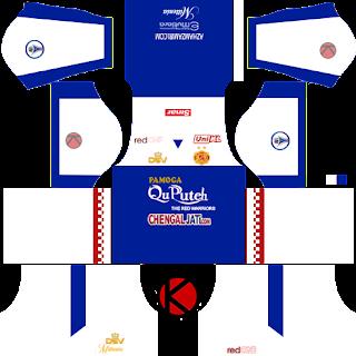 Kelantan Dream League Soccer 2016 Kits And Logo - piala malaysia