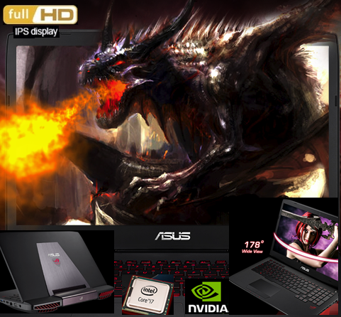 Best 17.3-Inch Gaming Laptop for $1700 / $1800 by Asus