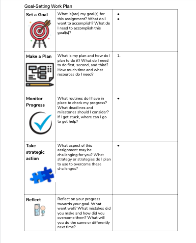 goal-setting-work-plan