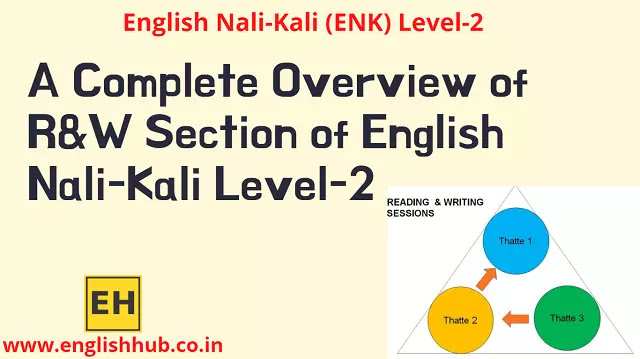 A Complete Overview of Reading and Writing Section of English Nali-Kali Level-2
