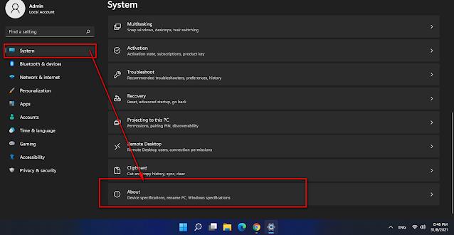 Xem cấu hình máy tính trên Windows 11