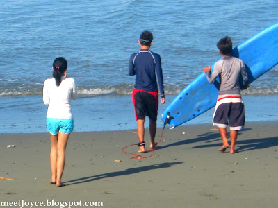 Surfing, Sabang Beach, Baler