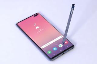handphone samsung galaxy note 10 terbaru 2020
