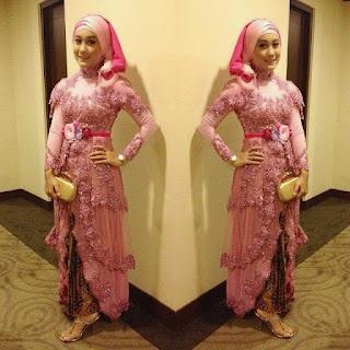 Model Baju Muslim Kebaya Wisuda Desain Terbaru