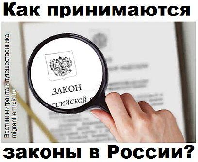 Как принимаются законы в России?