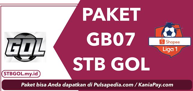 Paket GB07: Harga, Channel, dan Cara Pembelian