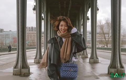 """Noticias de Doramas:  Mira las nuevas fotos de """"Park Shin Hye"""" en su reciente visita París, está hermosa 😘😘😘"""