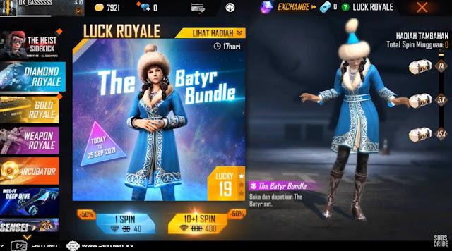 Diamond Royale The Batyr Bundle
