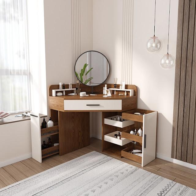 Gambar Meja Rias Minimalis yang Cocok untuk Semua Tipe Rumah