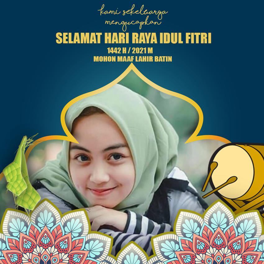 Pilihan 20 Desain Bingkai Ucapan Selamat Hari Raya Idul Fitri 1442 H, Keren.