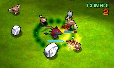 Gameplay Rumble Blast