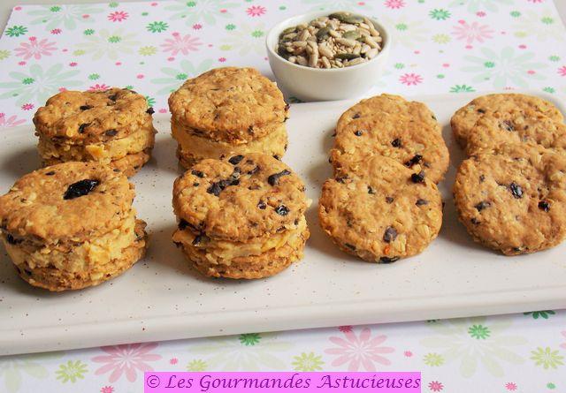 Comment faire des biscuits apéritifs fourrés ?