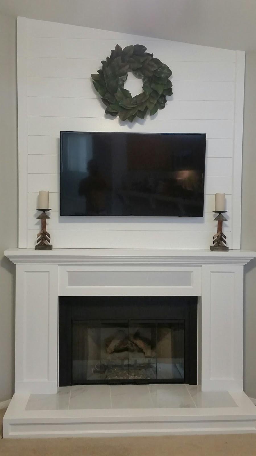 soundbar in fireplace media mantle speakerworks com speakers