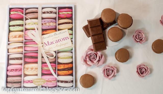 Macarons Rezept | Schokolade | Aurelie Bastian - Foodblog Topfgartenwelt