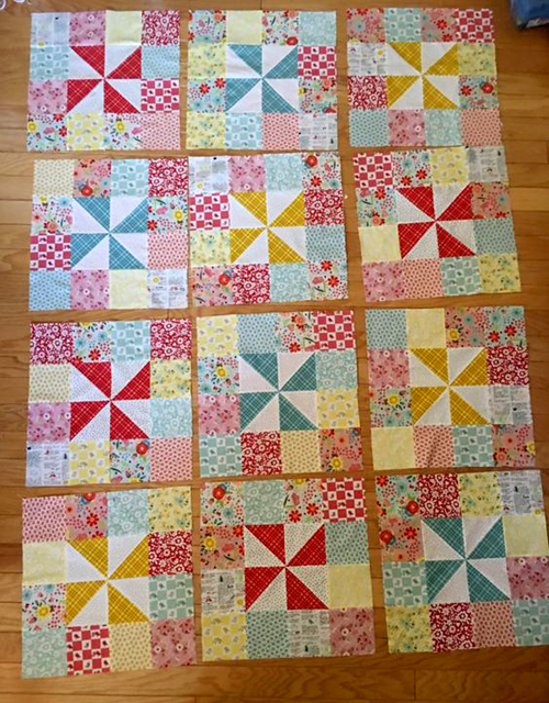Pinwheels & Patches - Quilt Tutorial