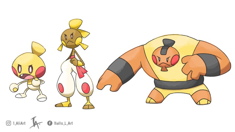 Pokémon Lutador