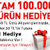 Netvarium'dan 100.000 ürün hediye