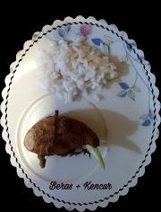 Ramuan beras+kencur, untuk bengkak