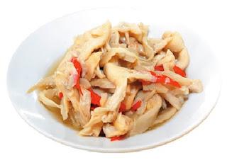 Resep Masakan Tumis Jamur Tiram Tahu
