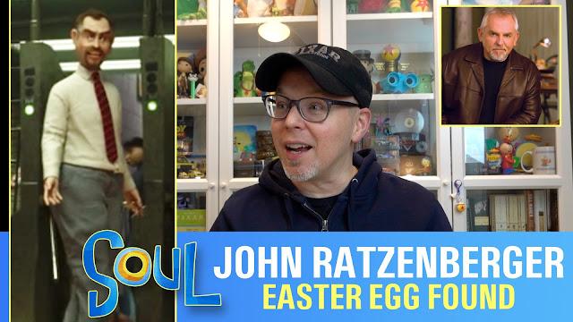 John Ratzenberger Easter egg in Pixar's Soul